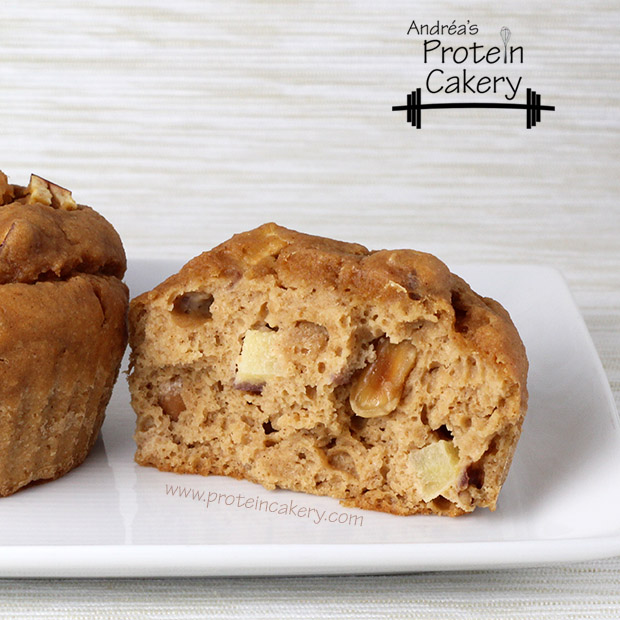 protein-cakery-apple-peanut-protein-muffins