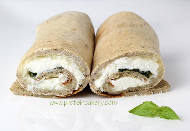 white-protein-pizza-wraps-basil