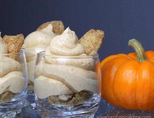 Pumpkin Cheesecake Protein Mousse