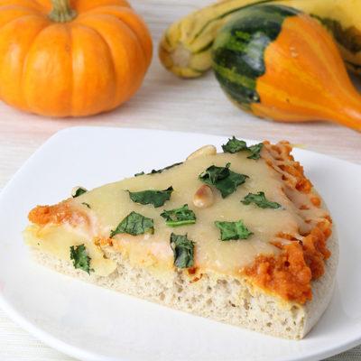 Pumpkin Kale Protein Pizza Recipe