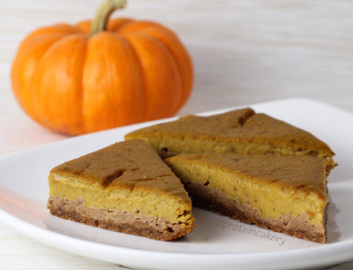 Pumpkin Protein Pie Bars