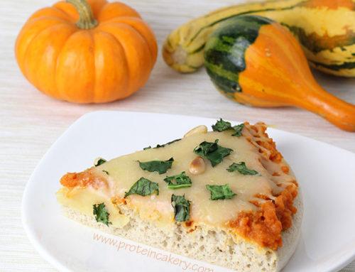 Pumpkin Kale Protein Pizza
