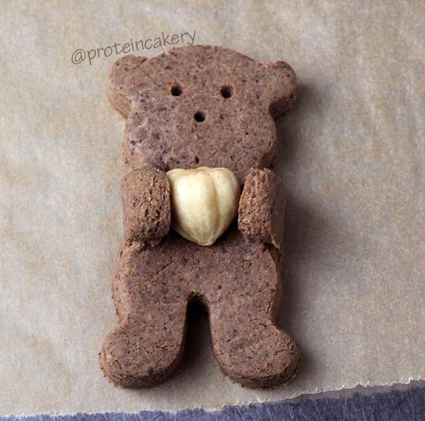 chocolate-hazelnut-bear-hug-protein-cookies-cute
