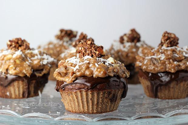 german-chocolate-protein-cupcakes-gluten-free