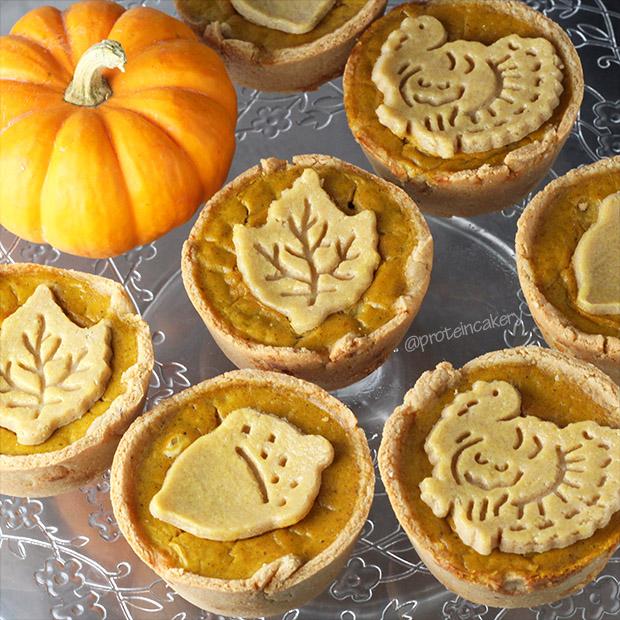 mini-protein-pumpkin-pies-gluten-free