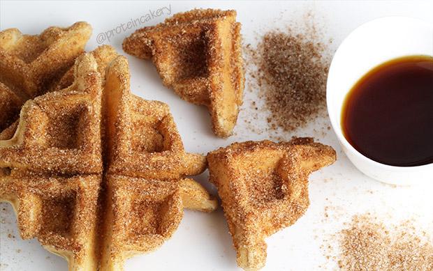 protein-churro-waffle-bites-gluten-free