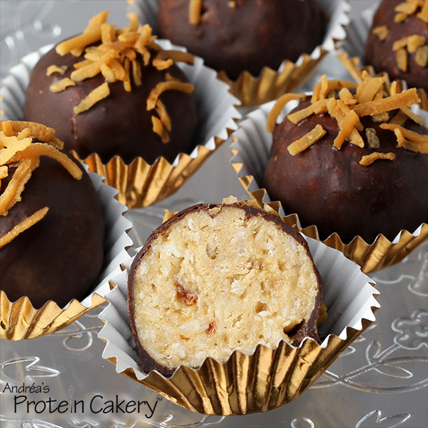coconut-caramel-protein-cakery-truffles-gluten-free