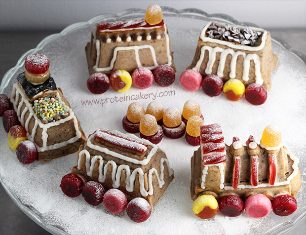 protein-gingerbread-train-cake-gluten-free-natural-candy