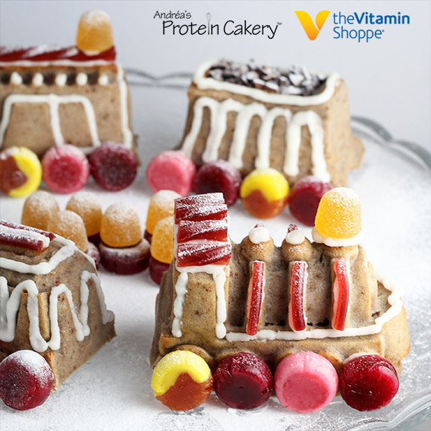protein-gingerbread-train-cake-gluten-free