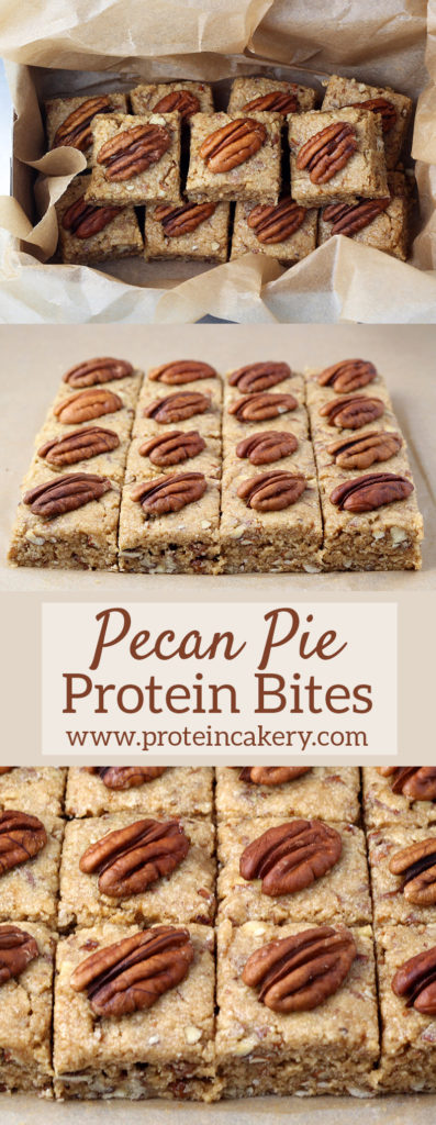 Pecan Pie Protein Bites - gluten free - by Andréa's Protein Cakery
