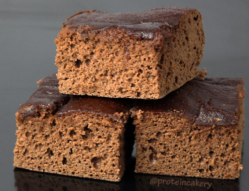 Double Chocolate Protein Snack Cake
