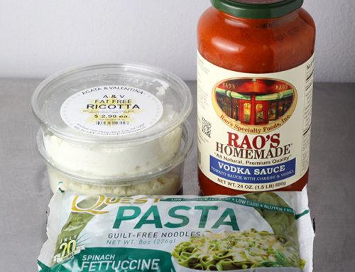 Quest Spinach Pasta Ricotta