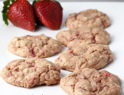 Very Strawberry Protein Cookies