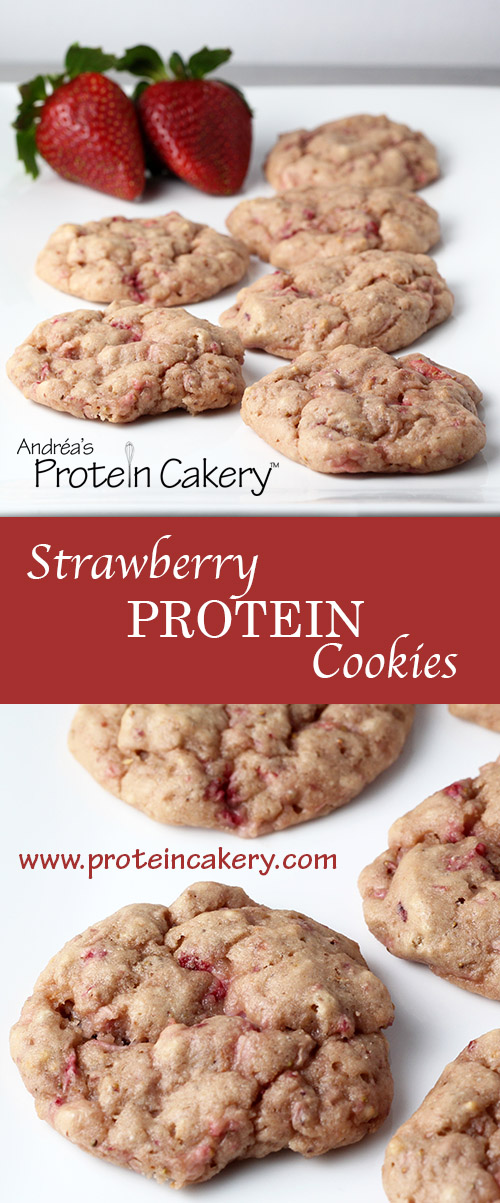 very-strawberry-protein-cookies-protein-cakery-pinterest