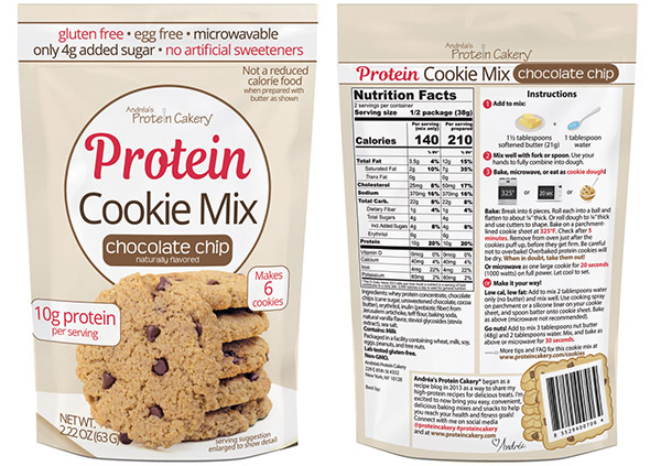 Chocolate Chip Protein Cookie Mix