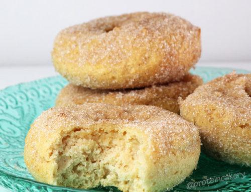 Cinnamon Sugar Protein Donuts