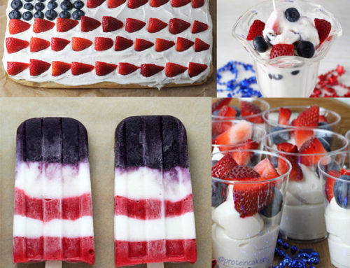 High-Protein July 4th Desserts