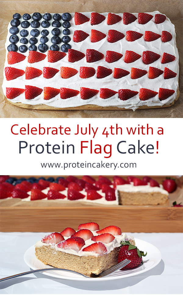 protein-cakery-protein-flag-cake-July4th