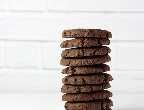 Chocolate Mint No-Bake Protein Cookies