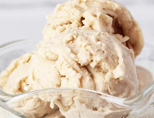 Cinnamon Honey Protein Frozen Yogurt