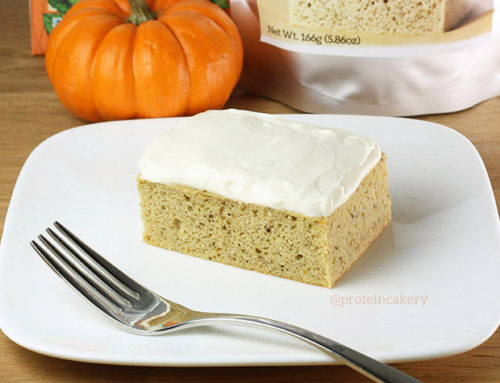 Pumpkin Protein Cake with Cream Cheese Protein Frosting