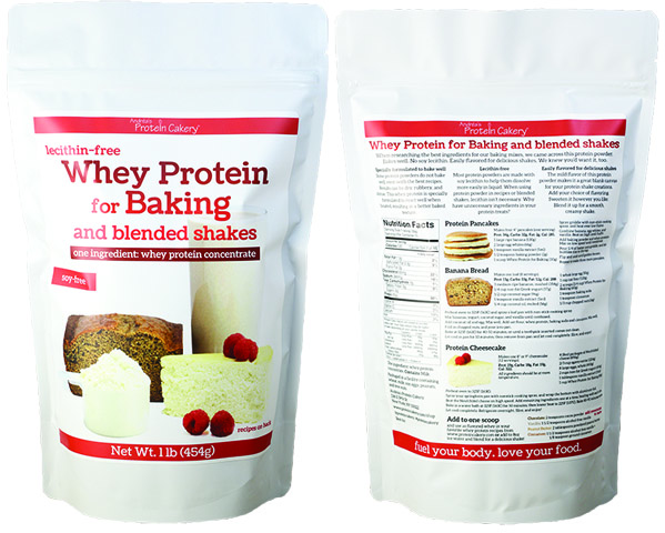 Whey for Baking and blended shakes