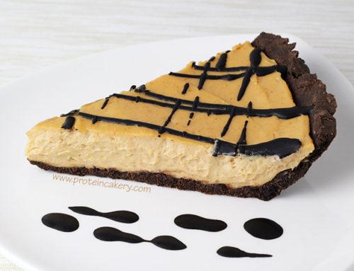 Chocolate Peanut Butter Protein Pie