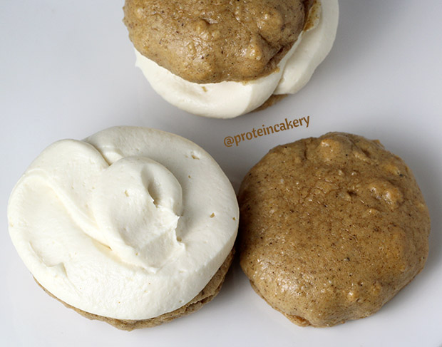 gingerbread-protein-whoopie-pies-gluten-free