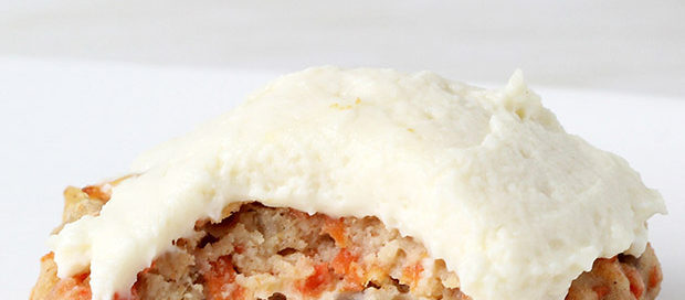 carrot-cake-protein-cookies-gluten-free-cream-cheese-icing