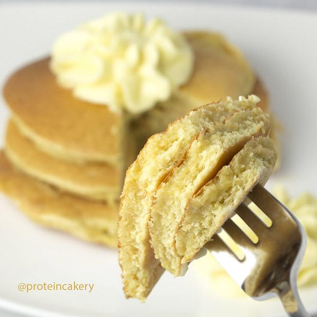 lemon protein pancakes