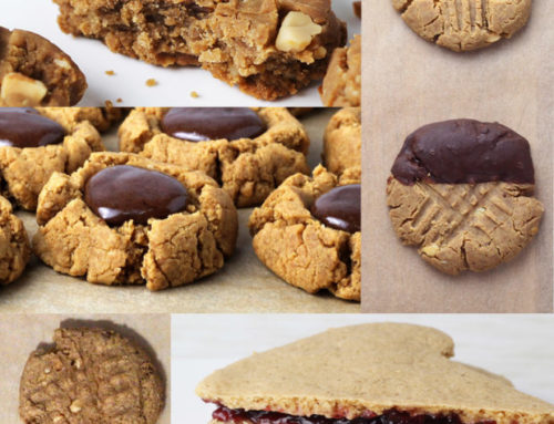 Peanut Butter Protein Cookies – 5 Ways