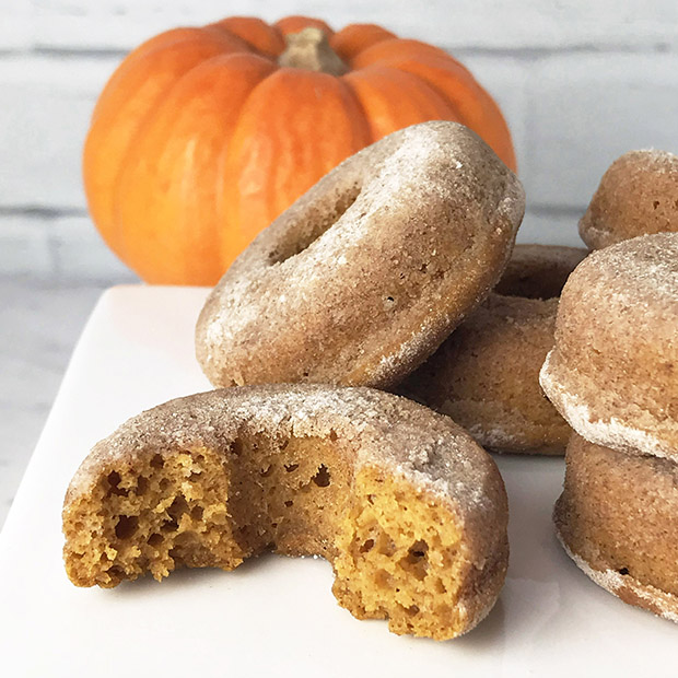 pumpkin spice protein donuts recipe